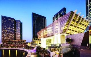 الصورة: الصورة: سوق أبوظبي العالمي يوقع 3 اتفاقيات مع مؤسسات صينية