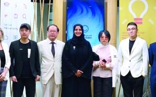 الصورة: الصورة: دبي الذكية تستقبل وفداً صينياً