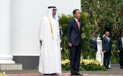 الصورة: الصورة: محمد بن زايد يصل جاكرتا ويعقد جلسة محادثات مع الرئيس الإندونيسي