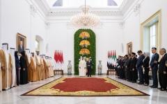 الصورة: الصورة: بيان مشترك بشأن تعزيز العلاقات بين الإمارات وإندونيسيا