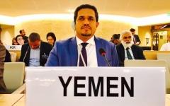 الصورة: الصورة: وزير حقوق الإنسان اليمني: التمثيل بالجثث وسحلها «جريمة حرب»