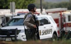 الصورة: الصورة: مقتل منفذ هجوم كاليفورنيا