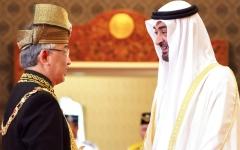 الصورة: الصورة: محمد بن زايد: حريصون على علاقات راسخة مع ماليزيا