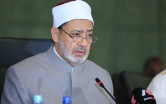 الصورة: الصورة: شيخ الأزهر يشيد بدور الإمارات في رعاية جهود السلام والتسامح