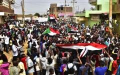 الصورة: الصورة: 4 قتلى بتظاهرات «مليونية القصاص» في السودان