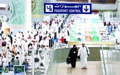 الصورة: الصورة: السعودية توفّر خدمات نوعية لضيوف الرحمن