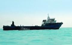 الصورة: الصورة: إيران تحتجز ناقلة نفط