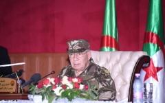الصورة: الصورة: قايد صالح: الجيش الجزائري متمسك بالحل الدستوري للأزمة في البلاد