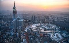 الصورة: الصورة: (2.096.023) حاجًا إجمالي حجاج الخارج والسعودية القادمين إلى مكة المكرمة