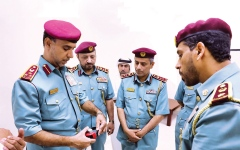 الصورة: الصورة: بدء «المراقبة الشرطية الإلكترونية» بعجمان والفجيرة