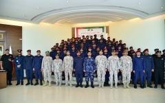 الصورة: الصورة: كبار قادة القوات المسلحة يهنئون قواتنا العاملة في اليمن والمتواجدة بالسعودية