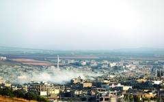 الصورة: الصورة: الجيش السوري يسيطر على بلدة استراتيجية في إدلب