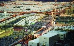 الصورة: الصورة: السعودية تتأهب لوداع الحجاج بحرارة الاستقبال نفسها