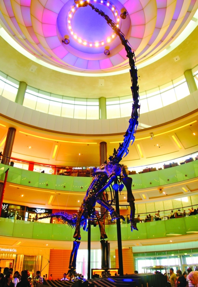 هيكل ديناصور للبيع في دبي بـ 14.6 مليوناً - البيان