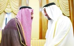 الصورة: الصورة: محمد بن زايد: السعودية صمام أمان المنطقة في مواجهة المخاطر