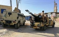 الصورة: الصورة: الميليشيات تشعل محاور القتال بطرابلس