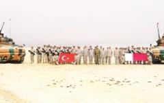الصورة: الصورة: قطر تكرّس الانسلاخ عن محيطها بقاعدة تركية ثانية