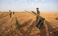الصورة: الصورة: قتلى وقصف متبادل في معارك خان شيخون