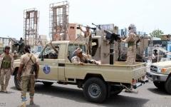 الصورة: الصورة: «التحالف»: قوات «الانتقالي» تبدأ الانسحاب والعودة إلى مواقعها السابقة في عدن