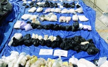 الصورة: الصورة: جمارك دبي تحبط تهريب 258 كلغم من المواد المخدّرة