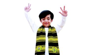 الصورة: الصورة: حمدان .. أصغر «وصلاوي» يتوشح بالشعار الجديد
