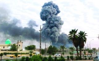 الصورة: الصورة: التحالف الدولي يمتثل لقرار العراق بضبط حركة الطيران