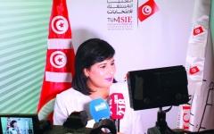 الصورة: الصورة: عبير موسى.. وجه نسائي طموح يسعى لرئاسة تونس