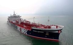 الصورة: الصورة: إيران تحذر الولايات المتحدة من احتجاز ناقلتها النفطية
