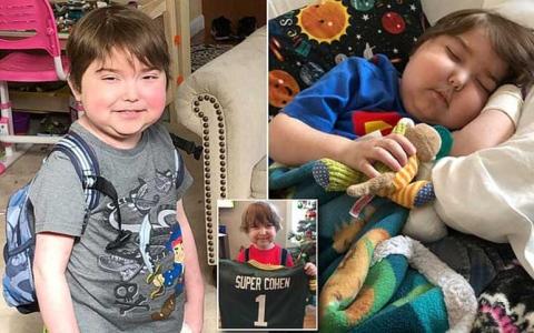 الصورة: الصورة: كوهين.. أول طفل في العالم يعيش بلا طعام