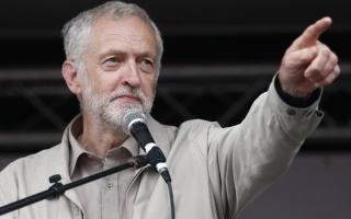 """الصورة: الصورة: زعيم المعارضة البريطاني يدعو إلى انتخابات لإنهاء """"أزمة"""" بريكست"""