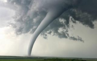 الصورة: الصورة: إعصار يضرب ألمانيا مخلفاً أضراراً كبيرة