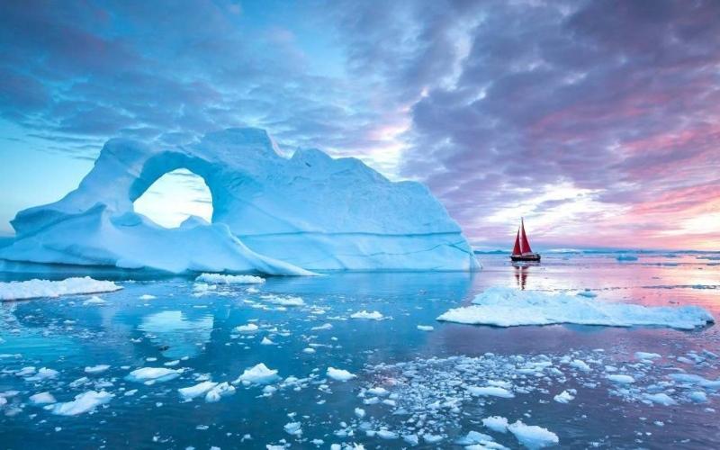 """الصورة: الصورة: أسباب سعي أمريكا لشراء """"غرينلاند"""" أكبر جزيرة في العالم"""