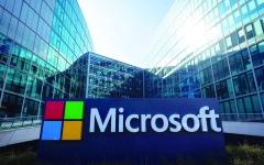 الصورة: الصورة: «مايكروسوفت» الأغلى في القيمة السوقية بـ 1.04 تريليون دولار
