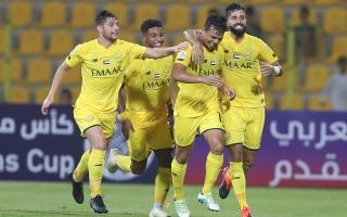 الوصل يضع قدماً في ثمن نهائي البطولة العربية