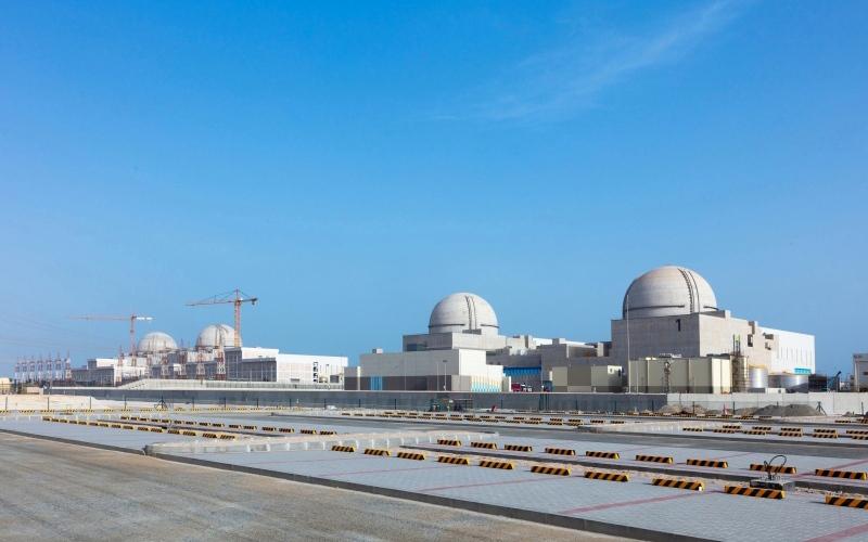 الصورة: الصورة: تشغيل محولات الطاقة الرئيسية  والاحتياطية للمحطة الـ 3 في «براكة»