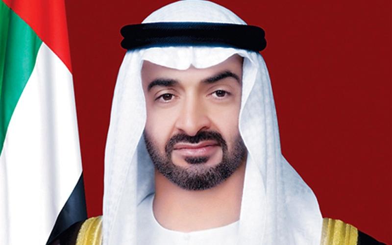 الصورة: الصورة: محمد بن زايد: سيبقى خليفة بن دعفوس مصدراً ملهماً للتفاؤل والأمل والصبر والإيجابية