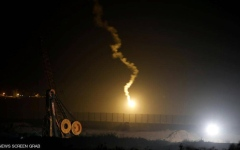 الصورة: الصورة: غارات إسرائيلية على قطاع غزة