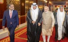 الصورة: الصورة: مودي: العلاقات بين الإمارات والهند في أفضل حالاتها على الإطلاق