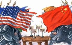 الصورة: الصورة: أبرز المحطات في الحرب التجارية بين الصين والولايات المتحدة