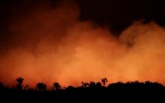 الصورة: الصورة: حرائق الأمازون تتحول إلى مواجهة سياسية بين الاتحاد الأوروبي والبرازيل