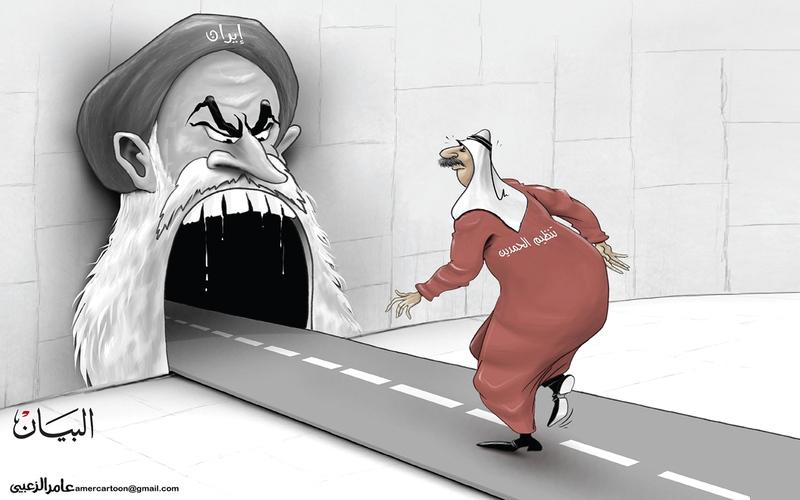 الصورة: الصورة: إيران وتنظيم الحمدين