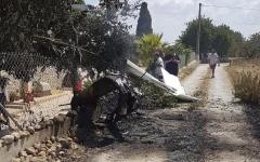 الصورة: الصورة: مقتل 7 أشخاص إثر اصطدام طائرة ومروحية في إسبانيا