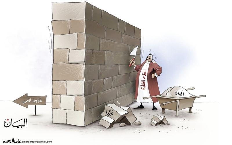 الصورة: الصورة: النظام القطري والجوار العربي