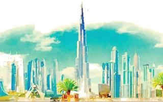 الصورة: الصورة: دبي تصنع أبجدية الإبهار