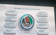 الصورة: الصورة: مركز محمد بن راشد للفضاء يستعرض تفاصيل مهمة أول رائد فضاء إماراتي