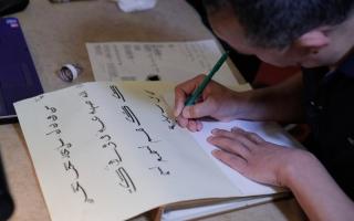 الصورة: الصورة: «دبي للثقافة» تصافح التشكيل ببرنامج تدريبي