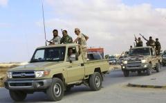 الصورة: الصورة: الجيش الليبي يدخل غريان واستسلام عشرات المسلحين