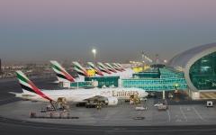 الصورة: الصورة: مطارات دبي تستقبل رحلة مباشرة من مدينة شيان الصينية