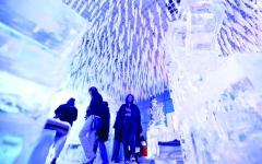 الصورة: الصورة: المقهى الثلجي بدبي.. ترفيه بنكهة القطب الشمالي