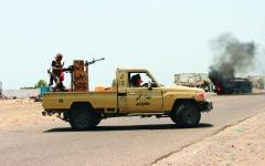 الصورة: الصورة: معارك عدن تفضح تحالف داعش والإصلاح